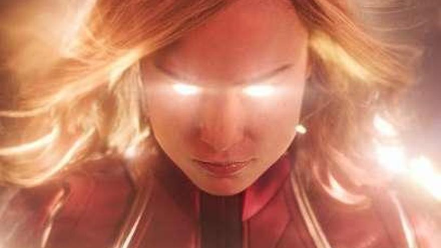 "Llega hoy ""Capitana Marvel"""