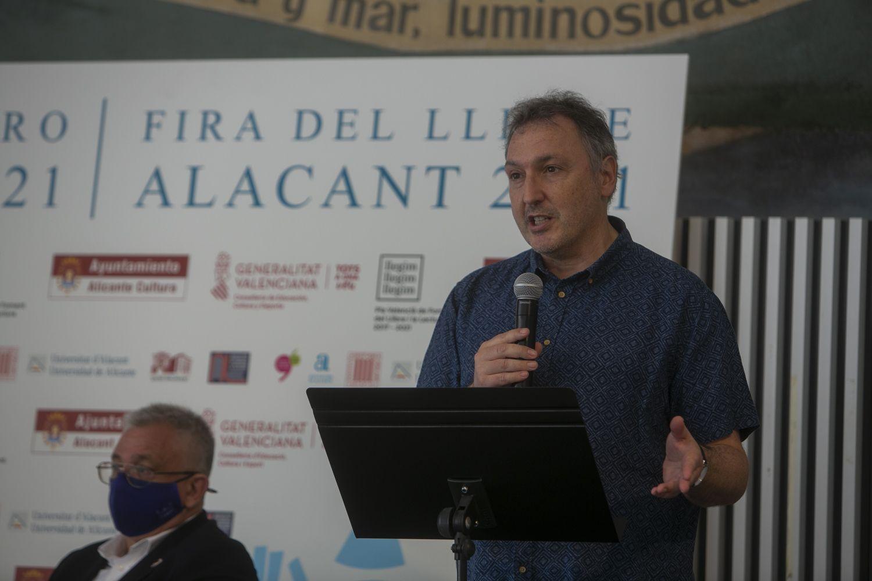 Inauguración de la Feria del Libro de Alicante