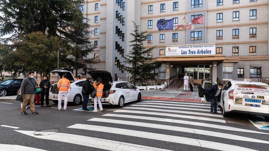 Taxistas de Zamora han recibido la vacuna del coronavirus