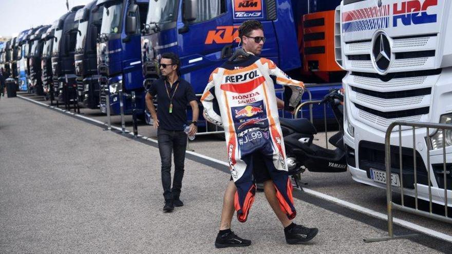 Imágenes del Gran Premio de Aragón del viernes 20 de septiembre