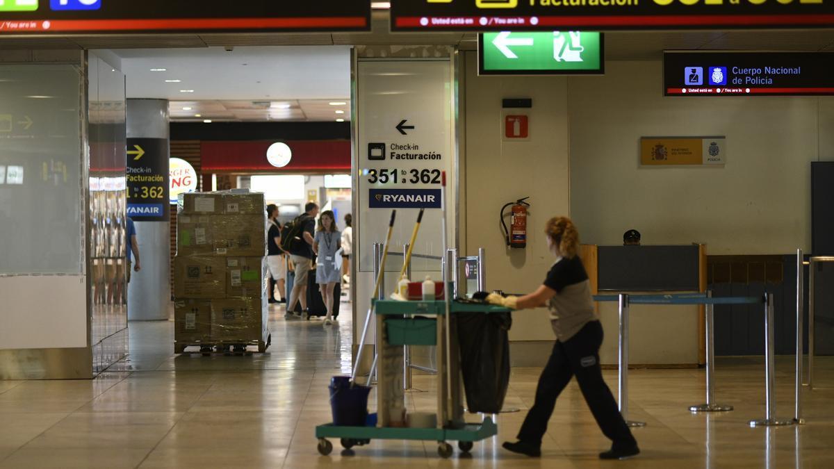 Una imagen del Aeropuerto de Barajas
