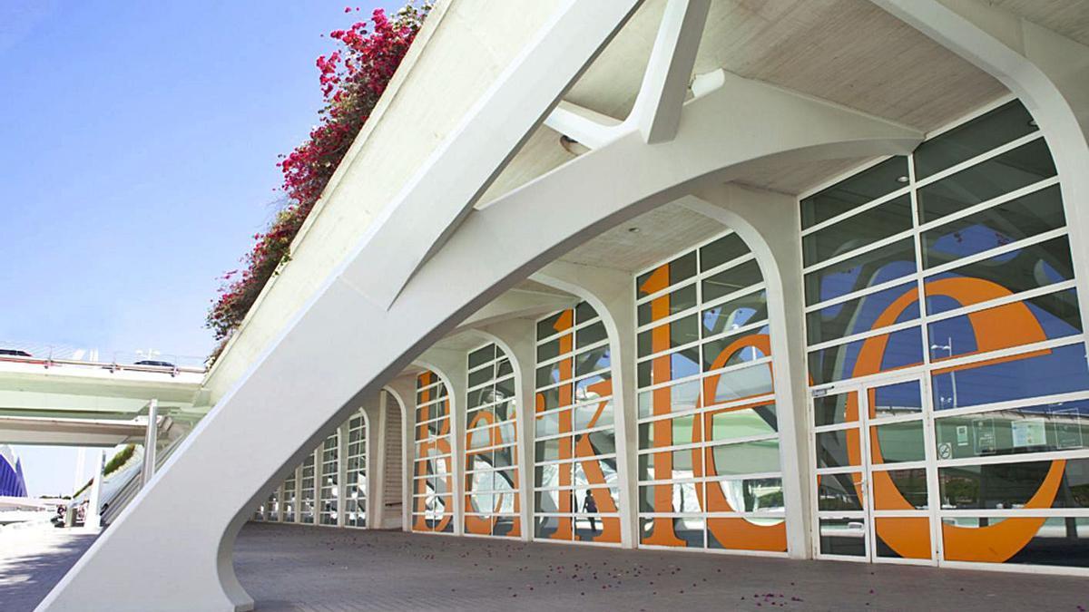 La escola Berklee, ubicada a la Ciutat de les Arts.    LEVANTE-EMV