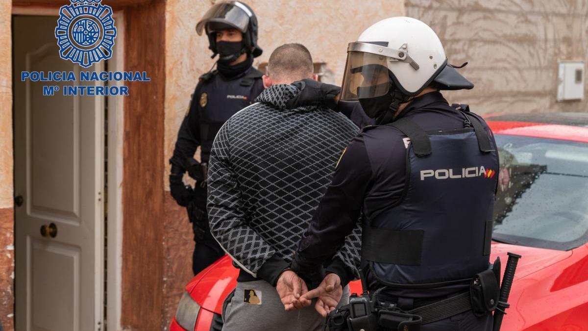 Detención de uno de los miembros de la organicación criminal en Yecla
