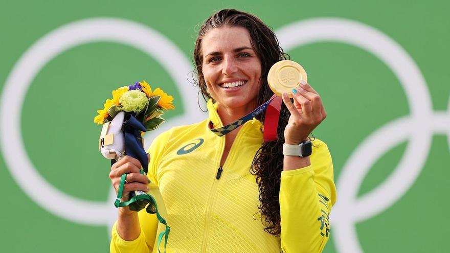 Jessica Fox conquereix el bronze olímpic després d'arreglar el seu caiac amb un condó