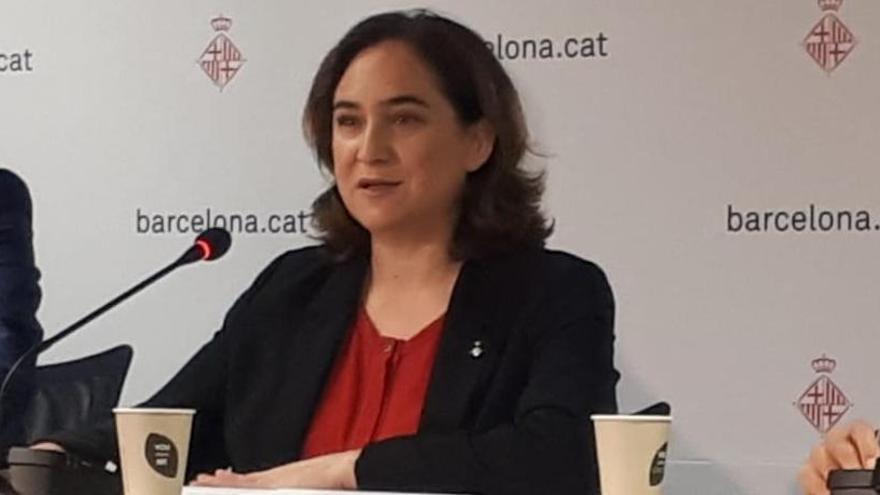 """Ada Colau confía en que el 'Clásico' sea """"compatible con el derecho a protesta"""""""