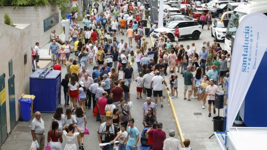 Mieres vuelve a tener espacio propio en la Feria de Muestras tras más de una década