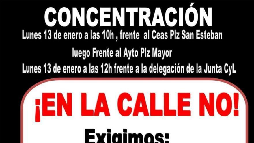 Concentración en Zamora para evitar que una mujer maltratada y sus hijos se queden en la calle por un desahucio