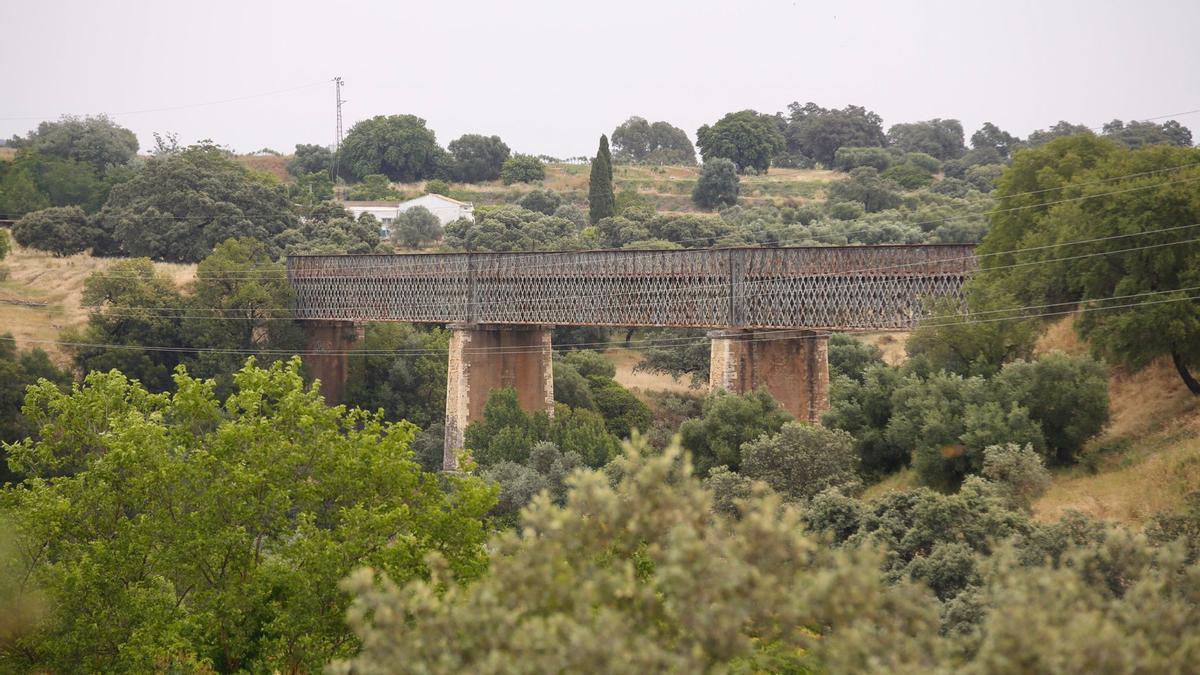 Imagen del Puente de Hierro.