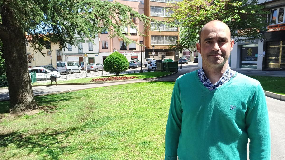Alberto Morán, portavoz municipal del Grupo Mixto en el Ayuntamiento de Pravia