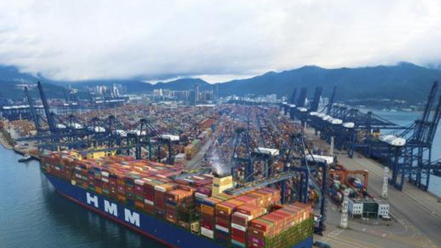 China constipa el transporte global