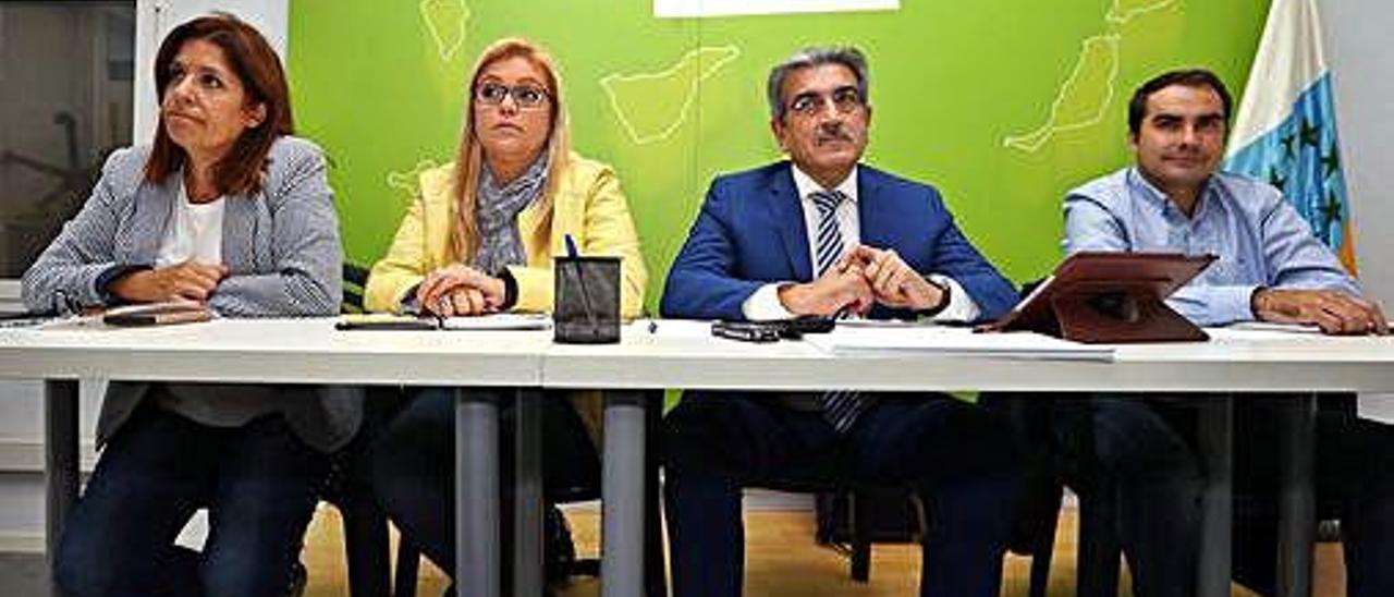 Líderes de CC de Tenerife presionan para impedir que Unidas Podemos llegue al Gobierno