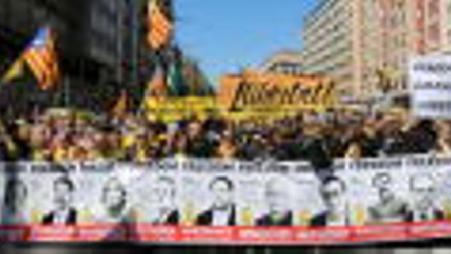 Manifestació del 14 de juliol a Barcelona per l'alliberament dels presos: horari i recorregut