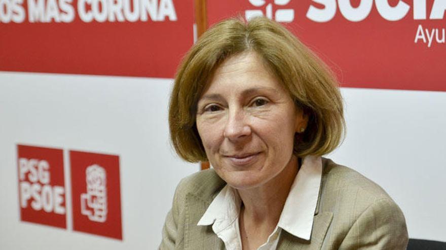 Barcón dimite como secretaria general del PSOE en A Coruña
