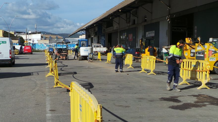 Ayuntamiento y Asima habilitan un nuevo aparcamiento para trabajadores en Son Castelló