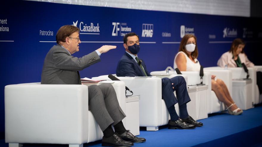Puig y Moreno Bonilla exploran un frente común por la financiación