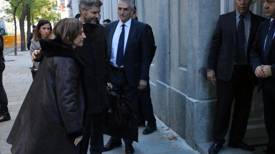 Forcadell ingressarà a la presó d'Alcalá Meco fins que aboni la fiança de 150.000 euros