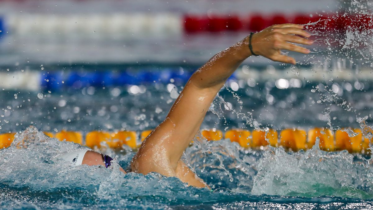 La nadadora española Jessica Vall.