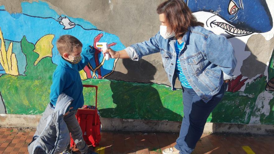GALERÍA   Inicio del curso escolar en el colegio Monte Gándara de El Puente de Sanabria