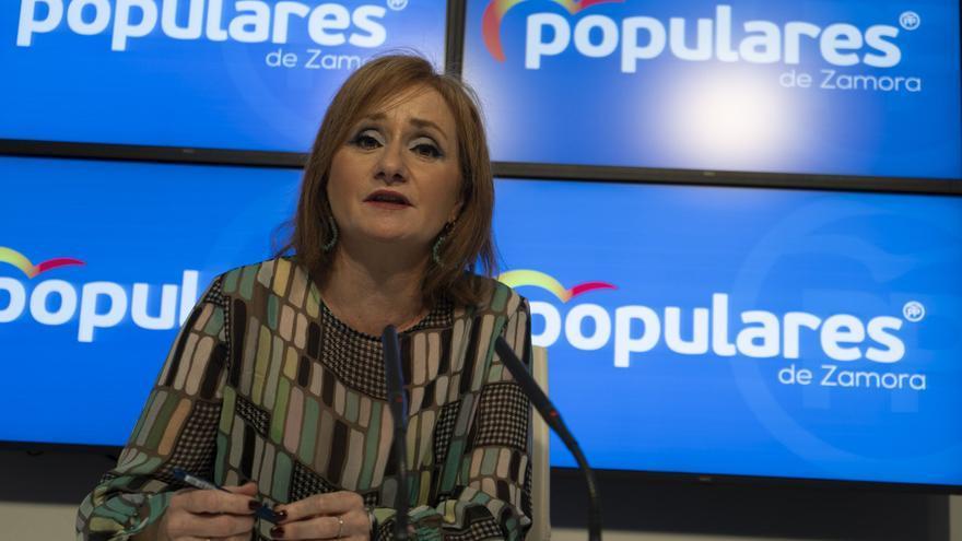 """Leticia García reclama """"liderazgo"""" al PSOE en el proyecto de Monte la Reina"""