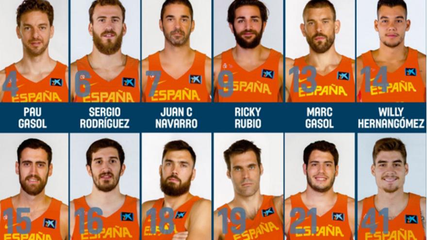 Scariolo anuncia la llista definitiva dels 12 jugadors per l'Eurobasket