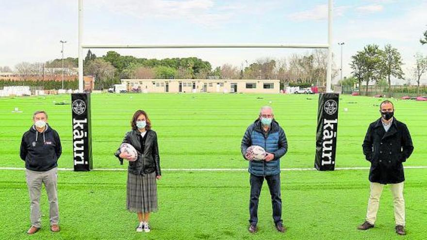 Picanya tiene un nuevo campo de rugby