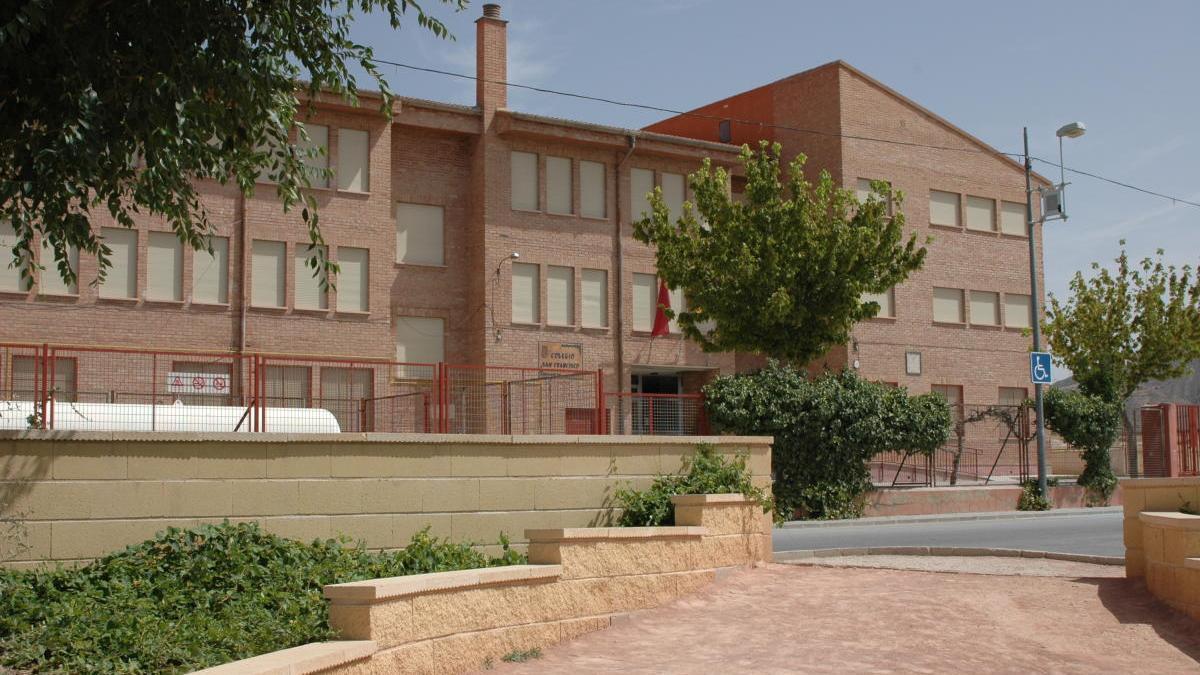 Imagen de la fachada del C.E.I.P. San Francisco de Jumilla