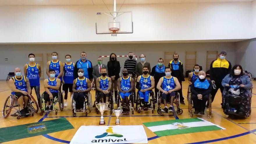 El Amivel levanta la XXXII Copa de Andalucía de baloncesto en silla de ruedas