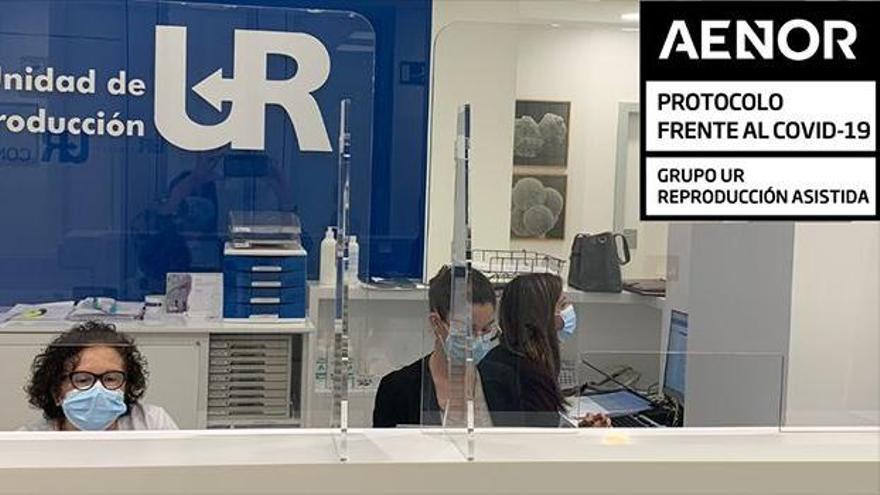 AENOR certifica a UR Vistahermosa como centro seguro frente al covid-19