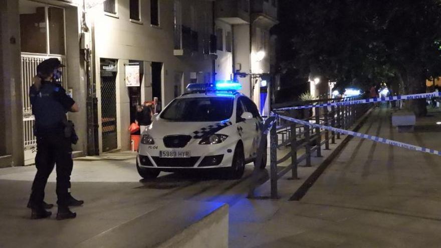 Poca gente y calles vacías desde las 2.30 horas en la primera noche sin ocio nocturno