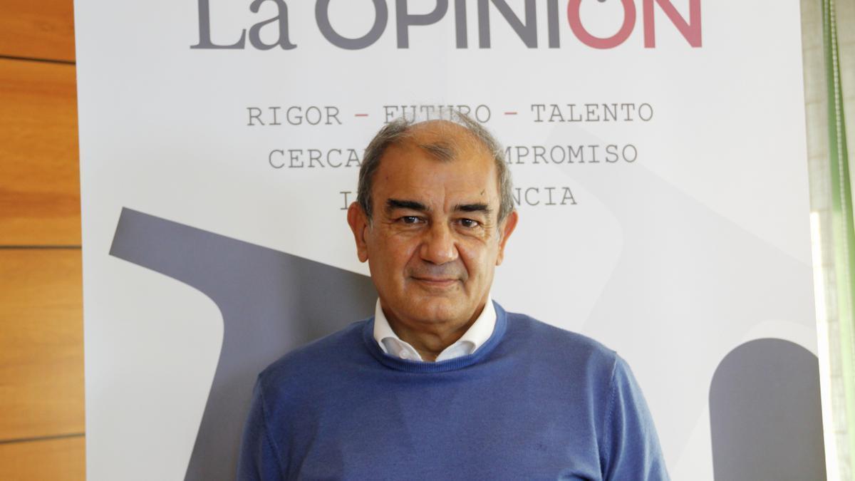Juan Antonio Pedreño, presidente de UCOMUR