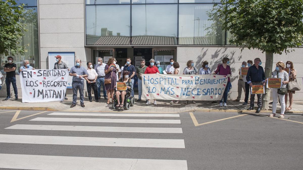 Una manifestación en la provincia de Zamora para la reapertura de consultorios.