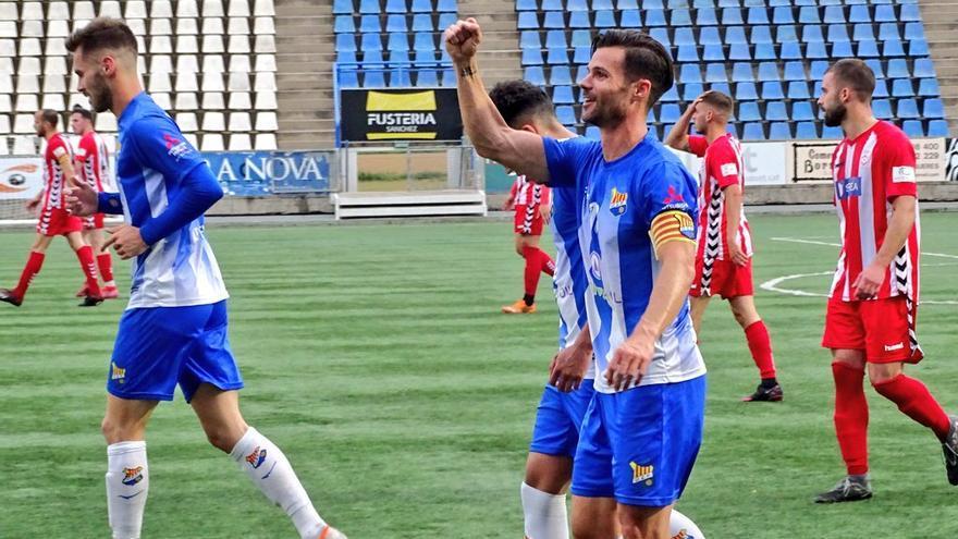 Triple victòria dels gironins del grup 5E Tercera Divisió