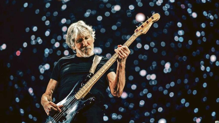 Roger Waters recarga pilas en Deià