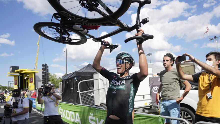 Ganador de la etapa 12 del Tour de 2021: Nils Politt