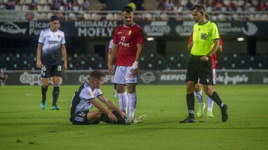 El Murcia, con un solo gol en 360 minutos