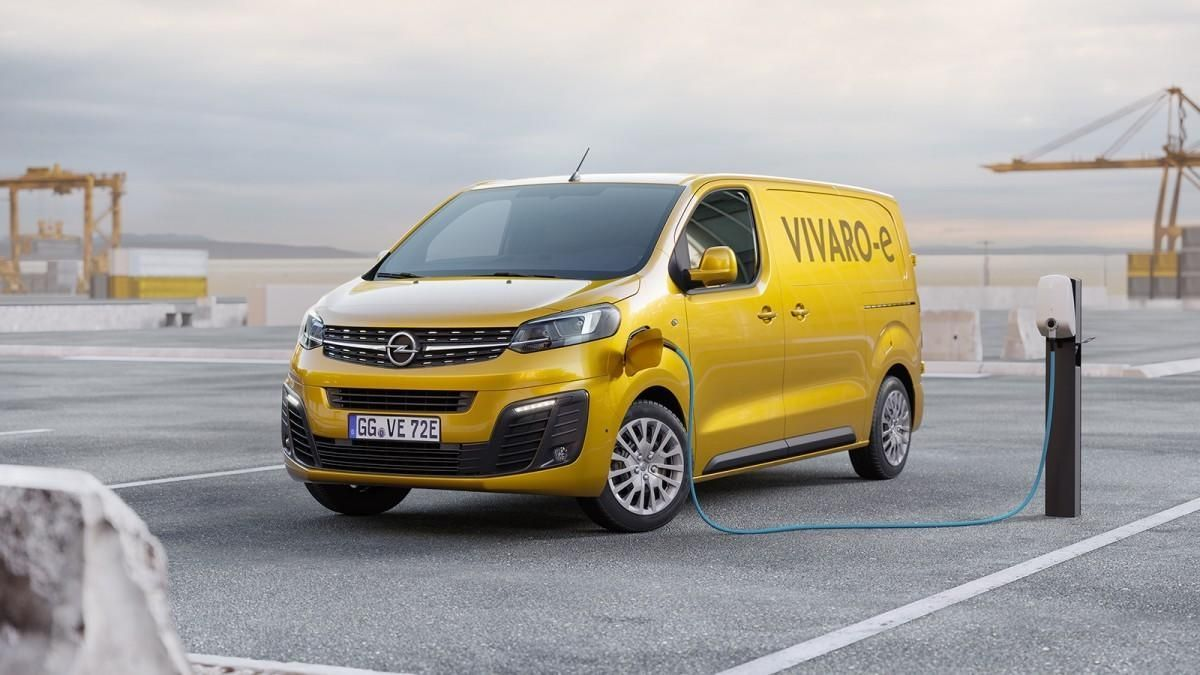 Opel Vivaro-e, transporte libre de emisiones