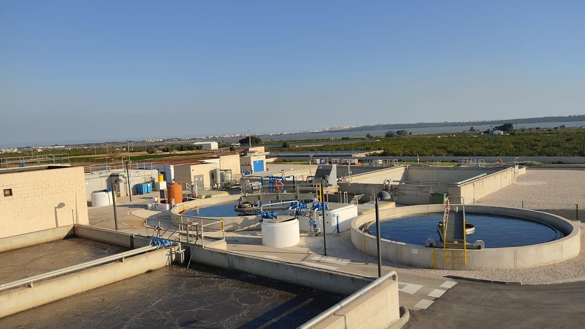 Vista general de la Estación Depuradora.