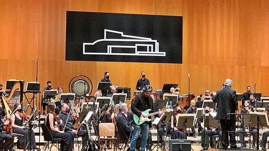 La música de cambra i la guitarra elèctrica es fusionen en un concert a Castelló