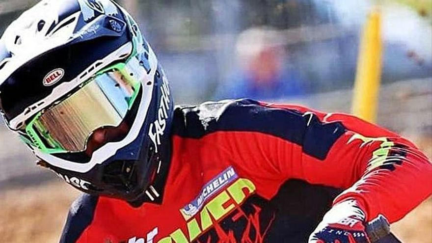 Ramon Brucart va ser tercer  a la segona mànega de l'estatal MX Màster 35