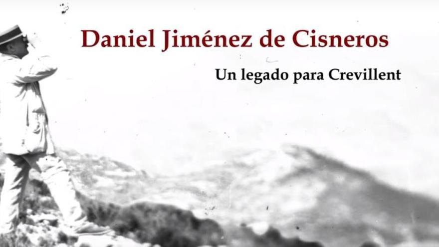 Crevillent publica el documental sobre el reconocido geólogo Daniel Jiménez de Cisneros