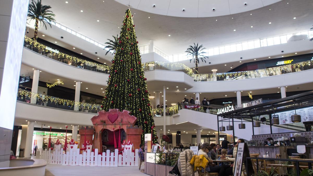 Navidad mágica en el CC Saler.