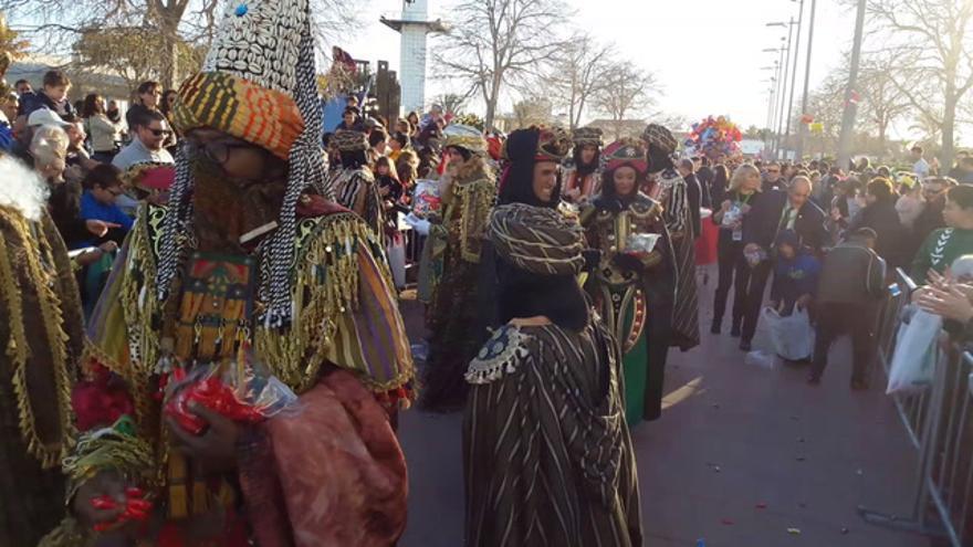 Los Reyes Magos llegan a Castellón