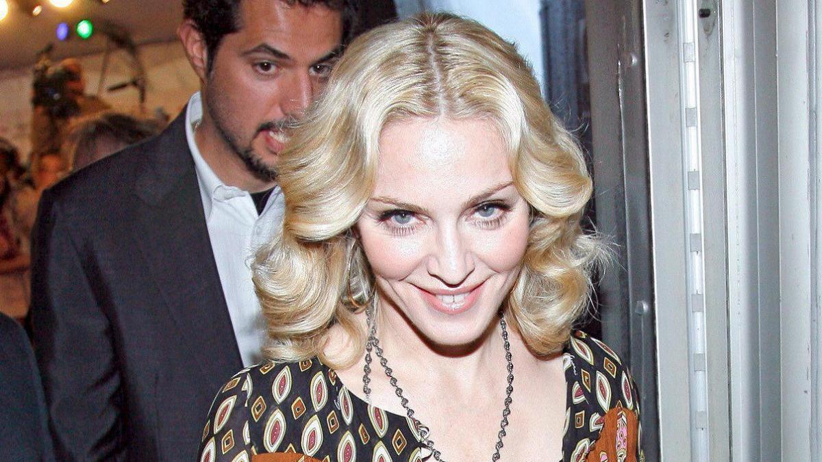 Una imagen de archivo de la cantante estadounidense Madonna.