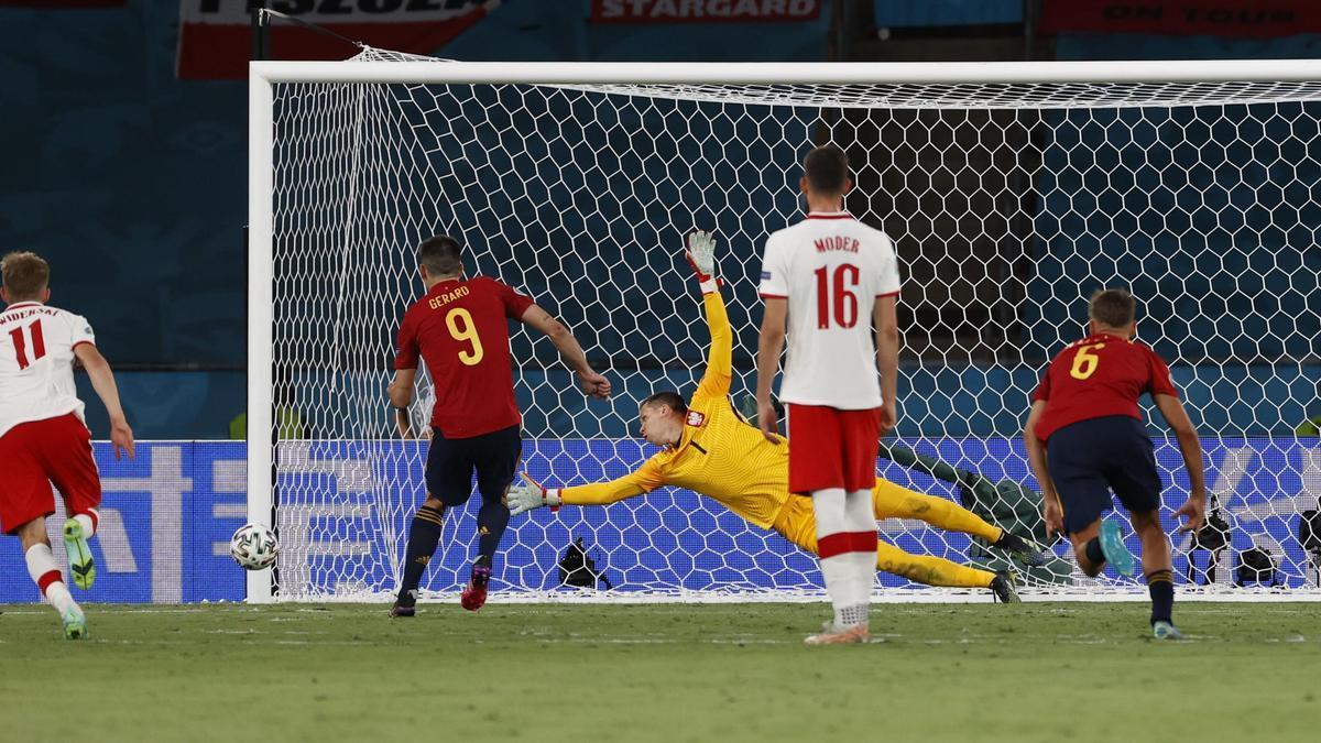 España acusa la falta de puntería.