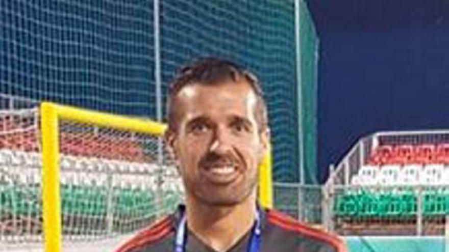 El murciano Christian Méndez, nombrado seleccionador español sub-21 de fútbol playa