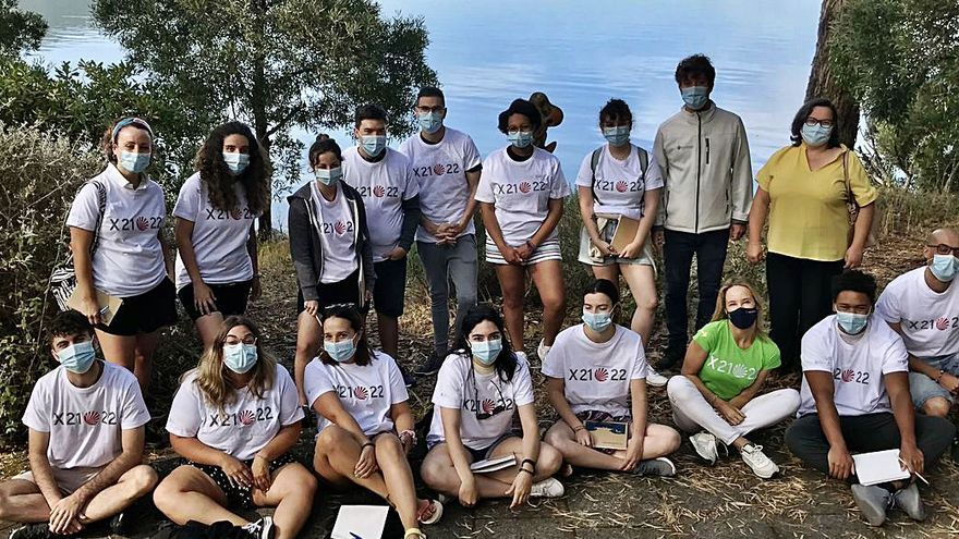 Voluntarios colaboran para conservar San Simón