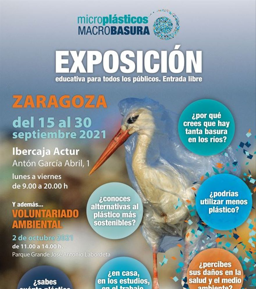 Exposición Microplásticos - Macrobasuras