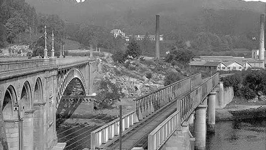 Pontevedra en el recuerdo   Los puentes que cruzan el Lérez