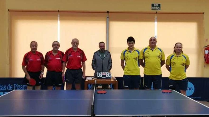 El Club Tenis de Mesa Recreo Cultural derrota al Hípica de A Coruña por 4-2