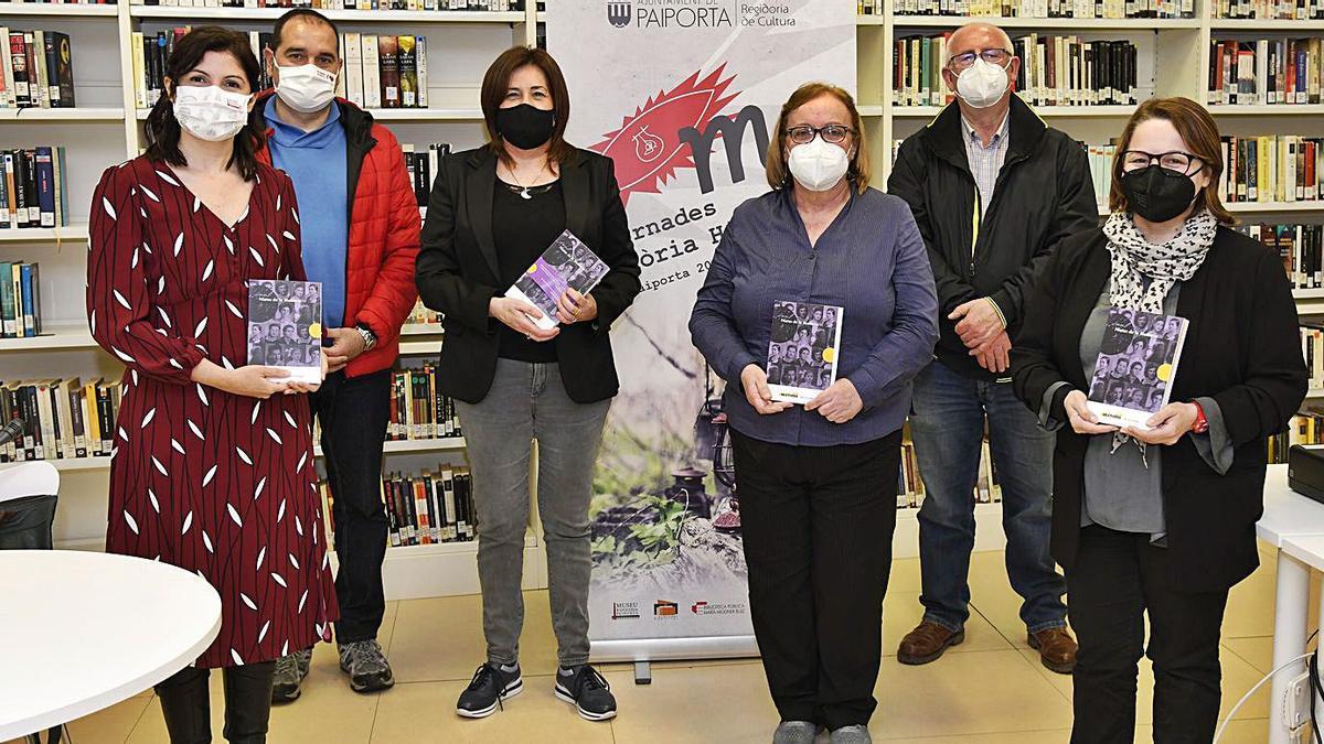 Presentación del libro «Nietas de la Memoria» en la Biblioteca de Paiporta.   A. P.